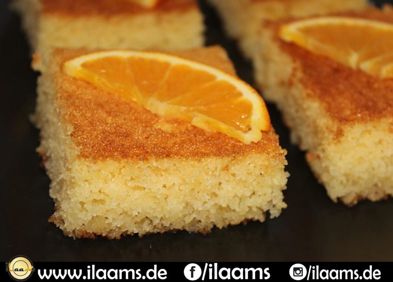 Orangen Basboussa